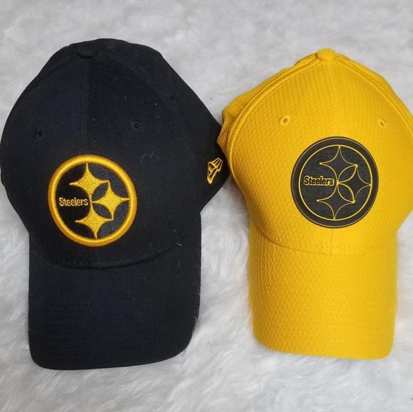 45640b58 NWOT Steelers New Era sideline hat caps